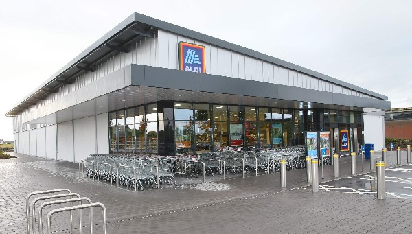 Aldi to become first retailer in Ireland to introduce €12.30 per hour Living Wage rate.