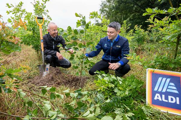 Aldi plants 37,700 trees in Ashbourne, Co. Meath to mark new Dunshaughlin store opening this month