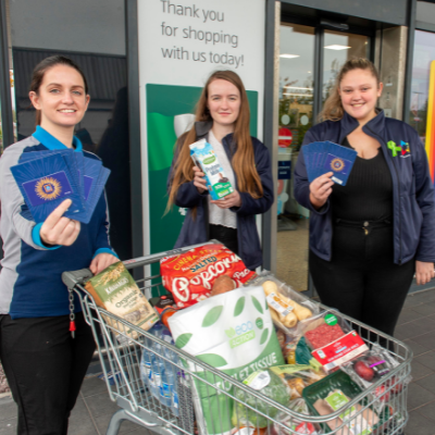 Aldi donates €1,000 worth of vouchers to student food bank appeal