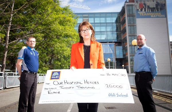 Aldi shoppers raise €20,000 for Our Hospital Heroes Charity