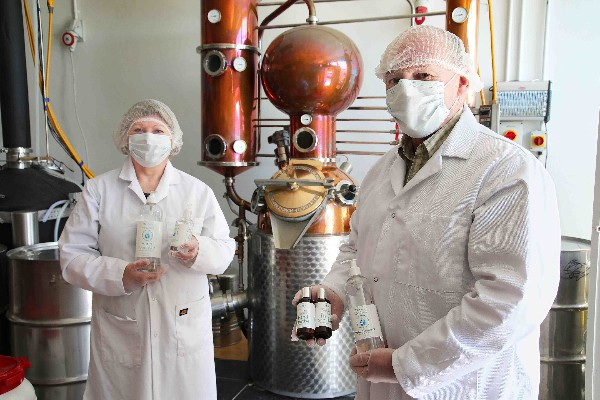 Beara Hand Sanitiser Helps SuperValu Staff to 'StaySafe'