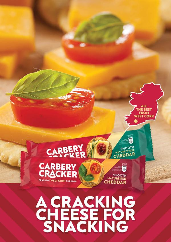 Carbery Cracker reveal that everyone's crackers for cheese