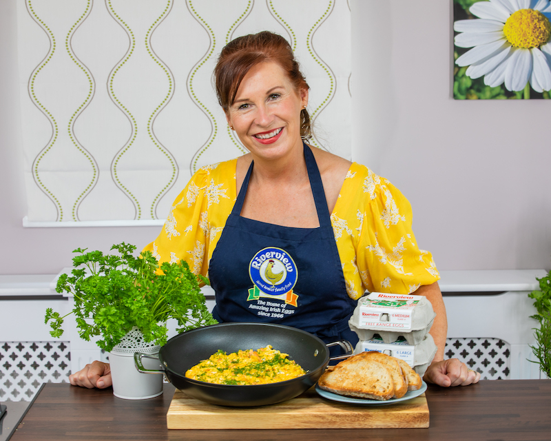 Online cookery series by Irish company demonstrates versatility of the humble egg