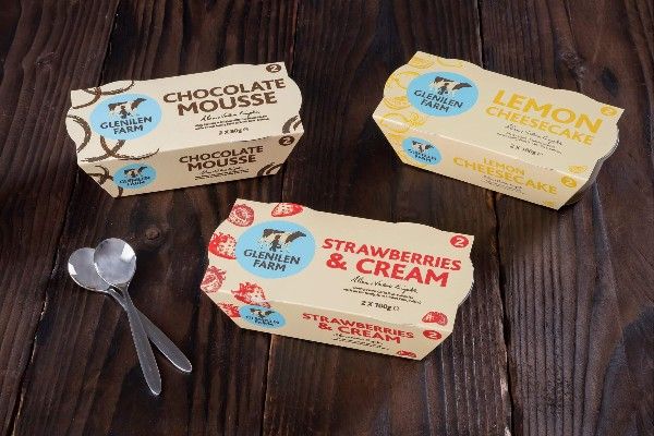 GLENILEN FARM GETS LOVED UP WITH NEW DESSERT RANGE