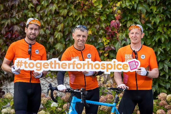 Bewley's employees get back in the saddle to raise funds for Bewley's Big Coffee Morning Social for Hospice