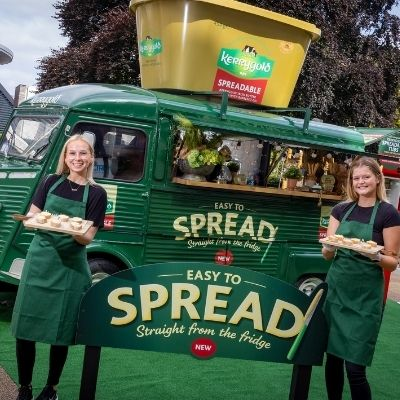 Kerrygold Spreadable food truck hits the road to spread the love