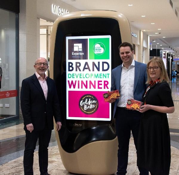 Golden Bake wins €85,000 advertising award from Love Irish Food