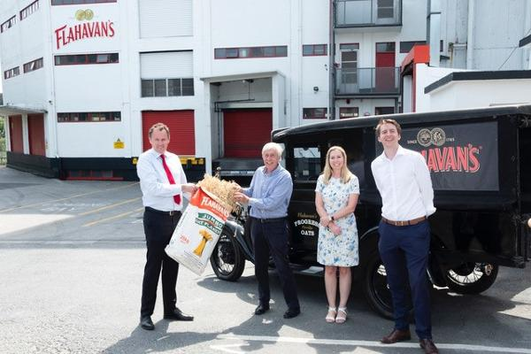 Minister for Agriculture, Food and the Marine, Charlie McConalogue visits Flahavan's