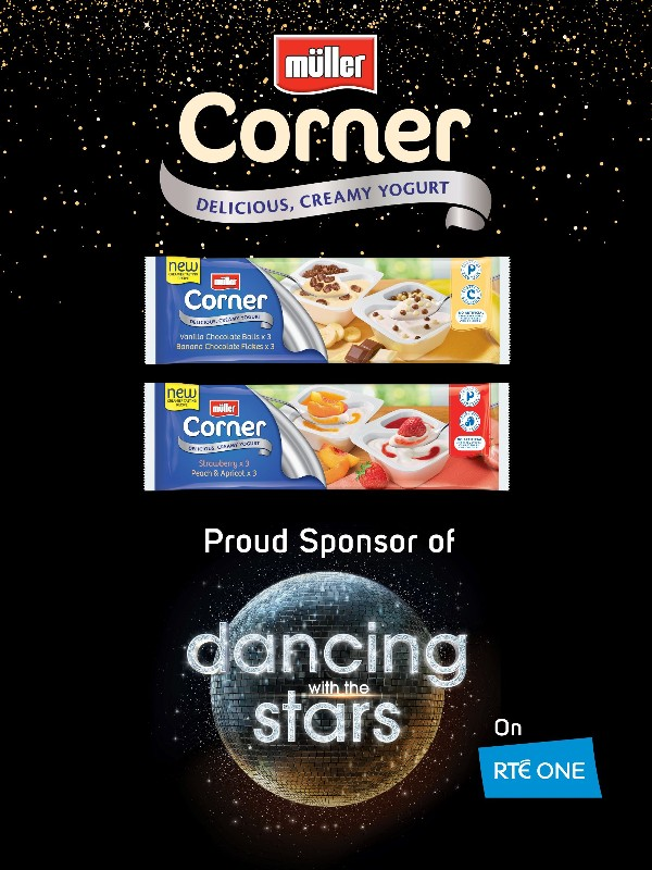 Müller inspires happier and healthier lifestyles with Dancing with the Stars partnership