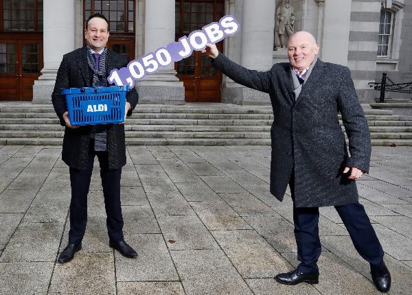 Aldi to recruit 1,050 new store staff in 2021