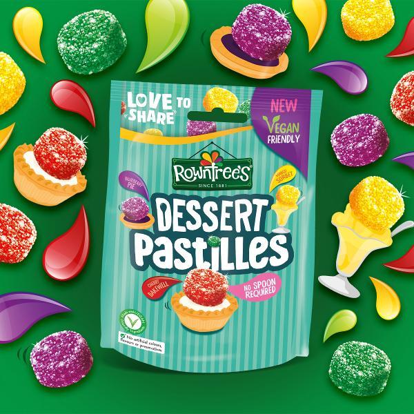 Blue pie thinking - Nestlé launches Dessert Pastilles in four delicious flavours