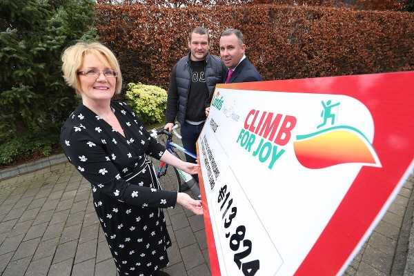 Jack McGrath helps Londis to Launch Cycle for Joy 2018