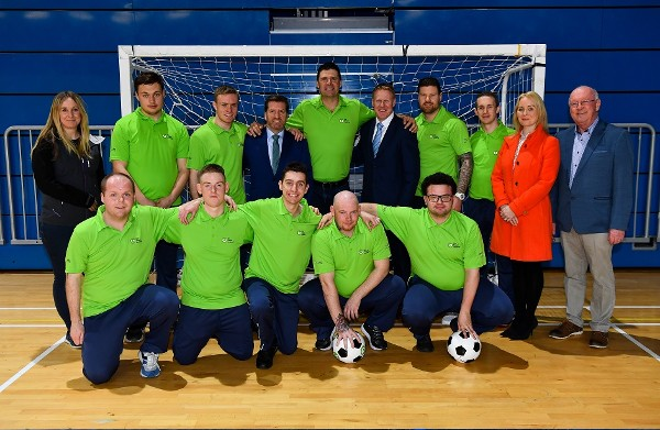 A Gala Special Moment: Football legend Niall Quinn talks sport with Team Ireland