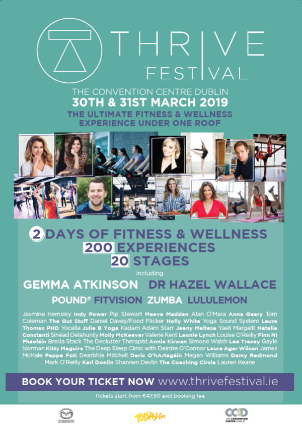 BRING YOUR BRAND TO THRIVE FESTIVAL!