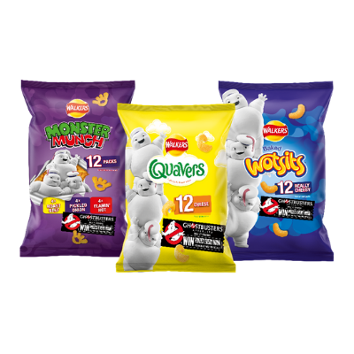 Walkers Snacks announces movie collaboration with Ghostbusters:Afterlife on-pack promotion