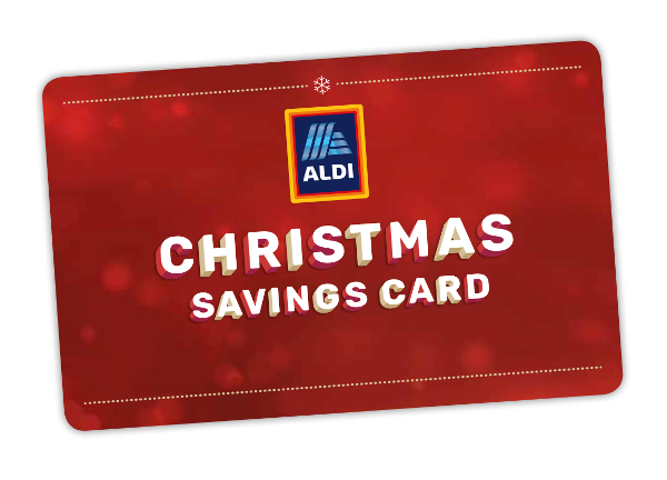 Become a savvy saver – Aldi launches first ever Christmas Savings Card