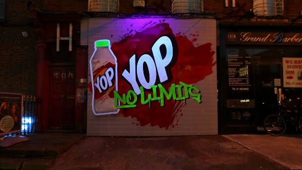 Yoplait, Wavemaker and Kinetic launch new OOH campaign to promote portable, drinkable snack range, YOP