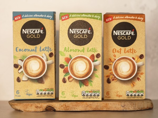 Nestlé launches plant-based latte coffees in Ireland