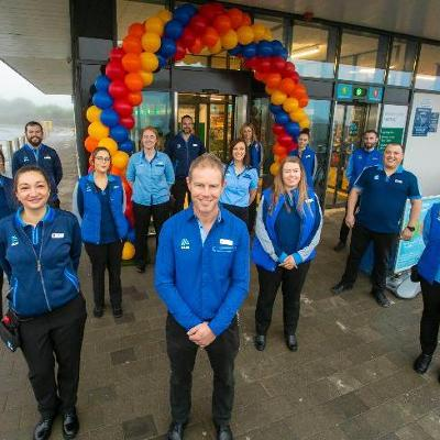 Aldi reopens Newtown Road Wexford Town store following €2.5M revamp and extension