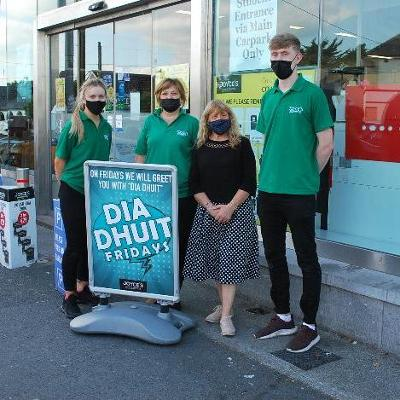 Dia Dhuit Friday introduced for Galway shoppers in Joyce's Supermarkets