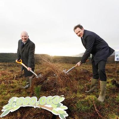 Aldi Ireland commits to planting 1 million native Irish woodland trees by 2025
