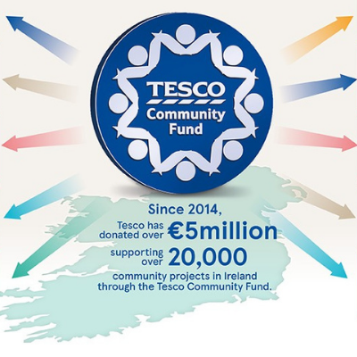 Tesco Ireland's Community Fund reaches €5 million in donations to local communities