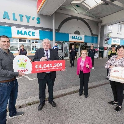 National Lottery confirms that €4,041,306 Lotto jackpot ticket sold in small Clare village