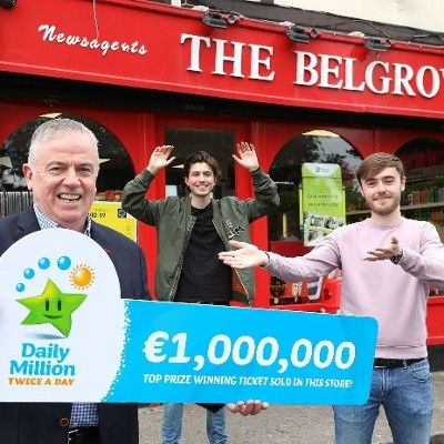 Popular NorthDublin newsagents sells €1 million Daily Million ticket