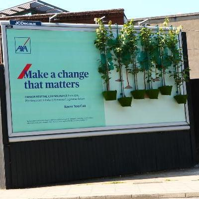 Kinetic and AXA encourage consumers to 'make a change that matters' through new OOH campaign