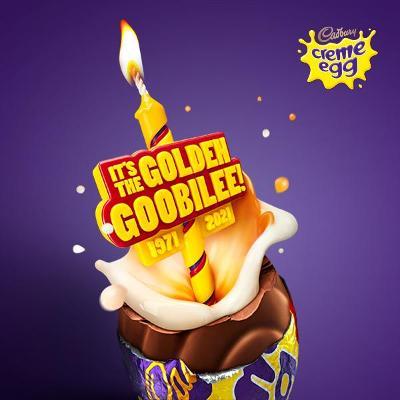 It's the Golden Goobilee! Cadbury Creme Egg turns 50