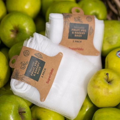 SuperValu Launches New Reusable Fruit, Veg & Bakery Bags