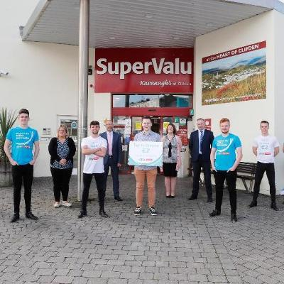 SuperValu teams up with Galway's Irish Dancing group Cairde to Launch  'Tap to Donate' Fundraising Campaign to raise funds for AsIAm