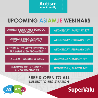 SuperValu & AsIAm Announce New 2021 Webinar Series to Support Families This Year