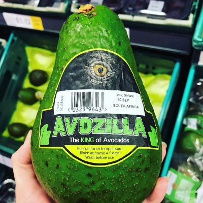 Is it a bird? Is it a plane? No! It's Avozilla