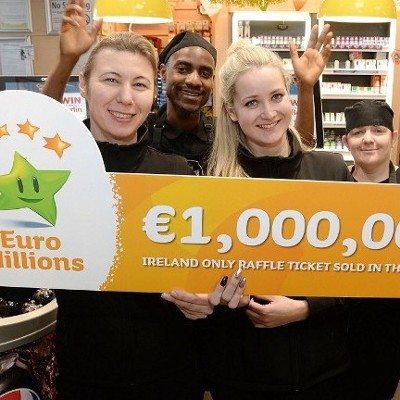 North Dublin Family Syndicate Claims €1 million EuroMillions Prize Then Heads For 40 Winks