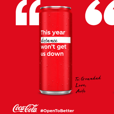 OPEN TO BETTER: Coca-Cola's Campaign For Hope And Optimism In 2021