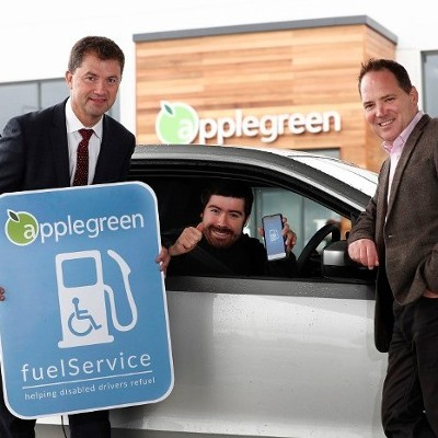 Applegreen joins forces with fuelService to help fuel Disabled Drivers