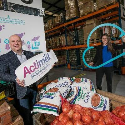 Danone joins FoodCloud to donate Actimel to communities across Ireland