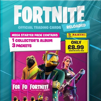 Panini Releases FORTNITE Official Trading Card Collection RELOADED