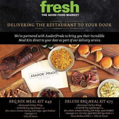 TAKE HOME THE RESTAURANT' WITH FRESH THE GOOD FOOD MARKET
