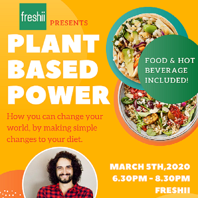 Off Meat or Dairy For Lent ? Learn How You Can Change Your World By Following A Plant Based Diet