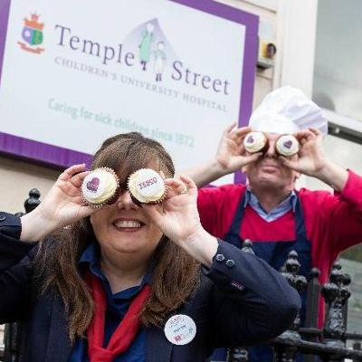 Bake a difference! Tesco calls on shoppers to support this year's Great Irish Bake in aid of Children's Health Foundation Temple Street