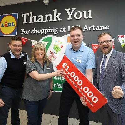 Lidl Customer in Artane Bags Bargain of a Lifetime with €1 Million Lotto Win