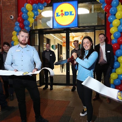 Lidl Ireland Opens New Aungier Street Store with €3 Million Investment and Creation of 24 Jobs