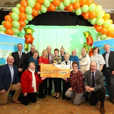 Record Breaking Cavan Syndicate of 295 Members Claim €256,142 EuroMillions Prize and  Time is Running Out for Lotto Winner to Claim €28,040 Prize on Ticket Sold in Monaghan