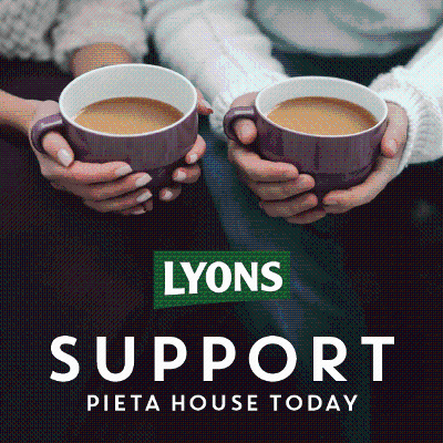 Lyons Tea Shows Its Support To Pieta House