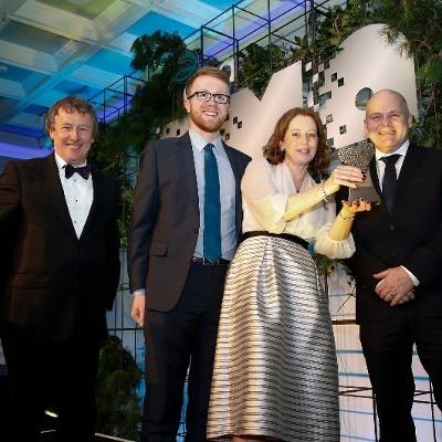 MACE celebrate national digital media award success