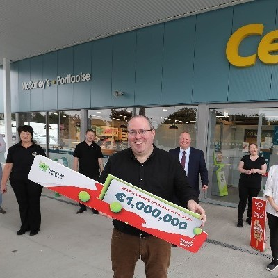 Beginners Luck! Portlaoise shop owner sells €1 million Lotto ticket - Only 11 days after opening his store