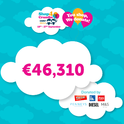 One4all raises €46,310 worth of giggles for children in CHI at Crumlin