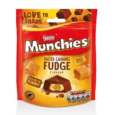 New Munchies Salted Caramel Fudge are coming soon to Ireland!